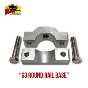 G3 Round Rail Base for Monster Rod Holders