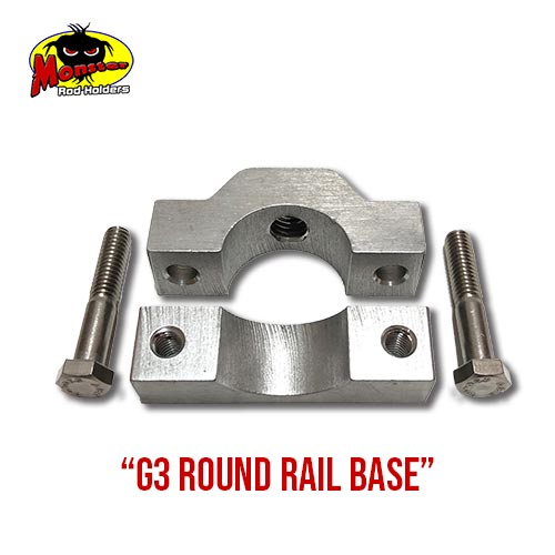 G3 Boats Round Rail Base