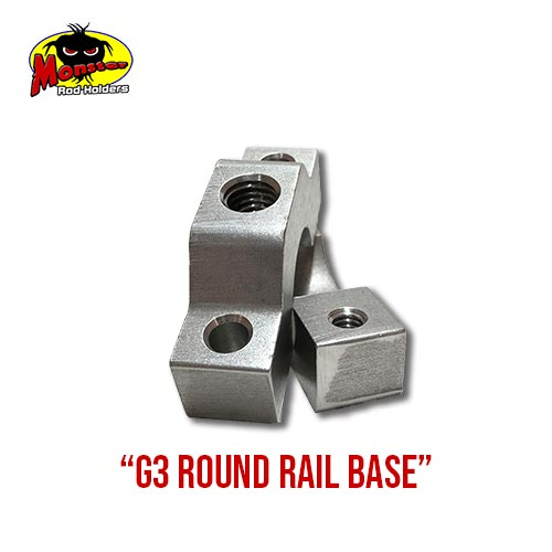 G3 Boats Round Rail Base – 10