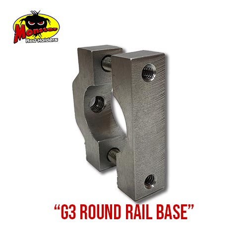 G3 Boats Round Rail Base – 12