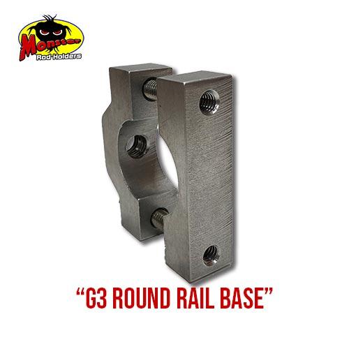 G3 Boats Round Rail Base – 12