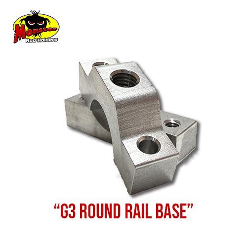 G3 Boats Round Rail Base – 15