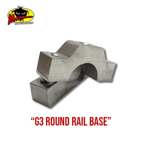 G3 Boats Round Rail Base – 16