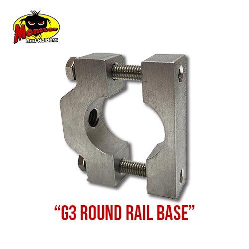 G3 Boats Round Rail Base – 18