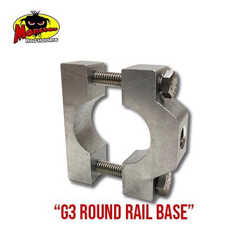 G3 Boats Round Rail Base – 2
