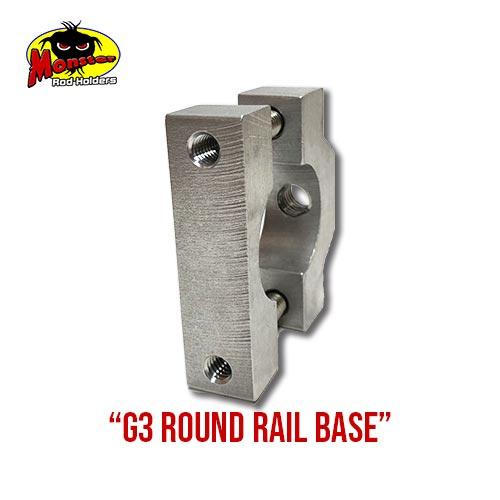 G3 Boats Round Rail Base -3