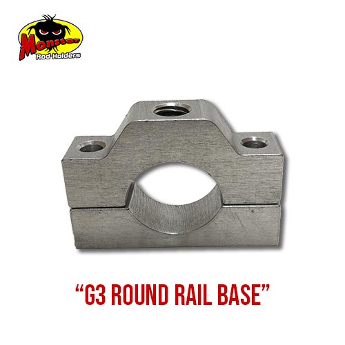 G3 Boats Round Rail Base – 6