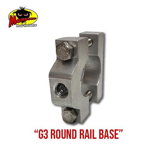G3 Boats Round Rail Base – 8