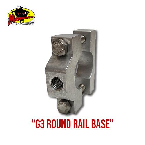 G3 Boats Round Rail Base – 8