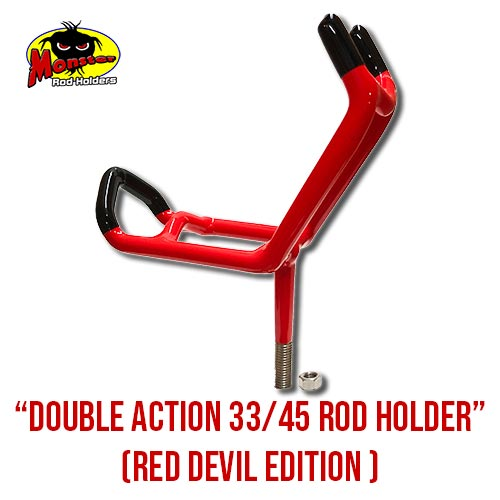 MRH Product 33,45 rod holder, red devil – 2