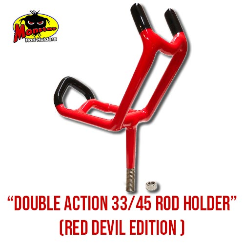 Double Action 33/45 Rod Holder – Red Devil Edition,