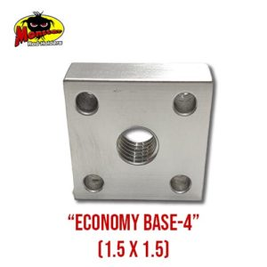 Vertical View of the Economy Base 4 from Monster Rod Holders