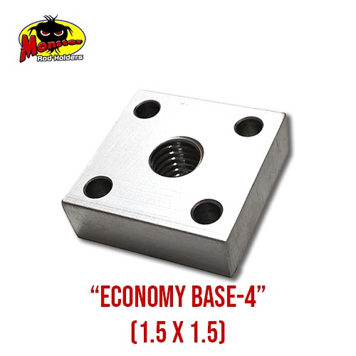 Economy Base 4 for Monster Rod Holders