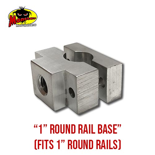 MRH Product Round Rail Base 1in – 10