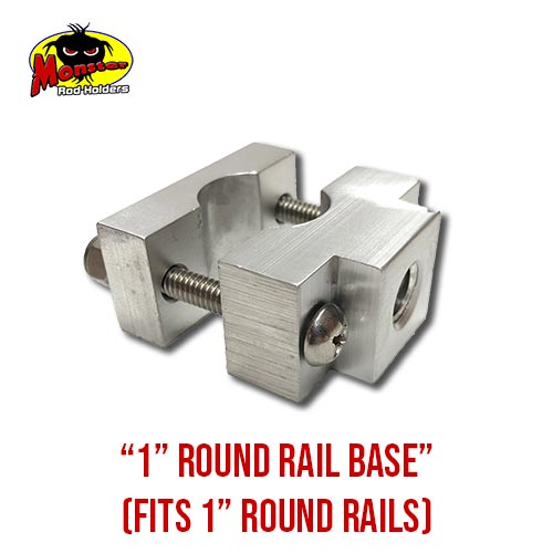 MRH Product Round Rail Base 1in – 12