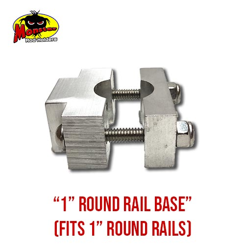 MRH Product Round Rail Base 1in – 13