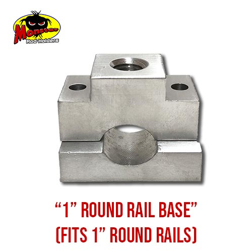 MRH Product Round Rail Base 1in – 14