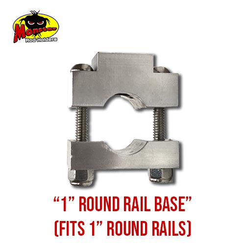 MRH Product Round Rail Base 1in – 2