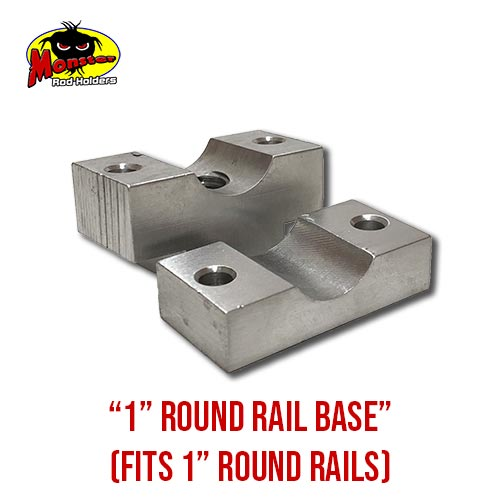 MRH Product Round Rail Base 1in – 3