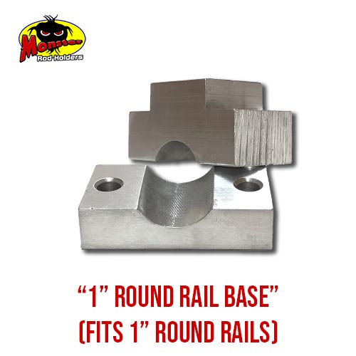 MRH Product Round Rail Base 1in – 4