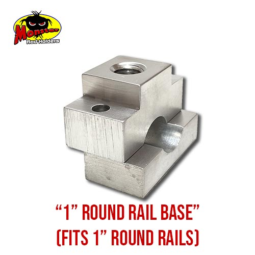 MRH Product Round Rail Base 1in – 5
