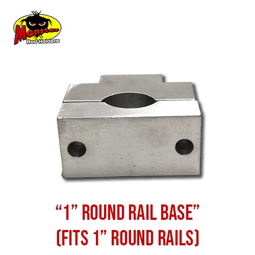 MRH Product Round Rail Base 1in – 6