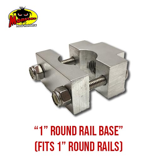 MRH Product Round Rail Base 1in – 7