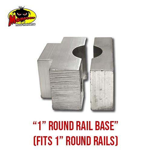 MRH Product Round Rail Base 1in – 8