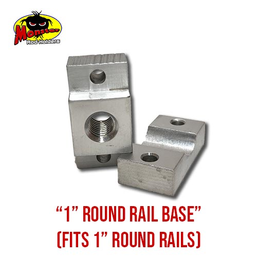 MRH Product Round Rail Base 1in – 9