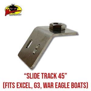 Slide Track 45 Rod Holder Base
