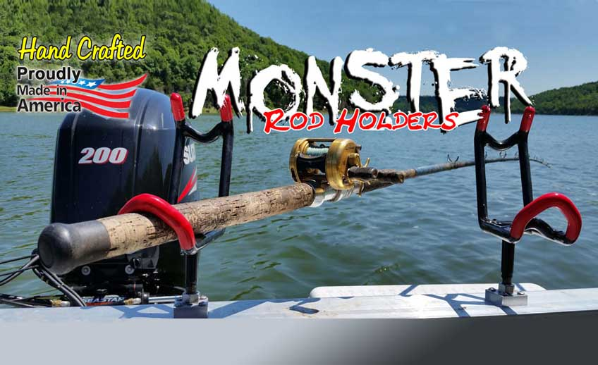 Monster Rod Holders – Hand Crafted Fishing Rod Holders