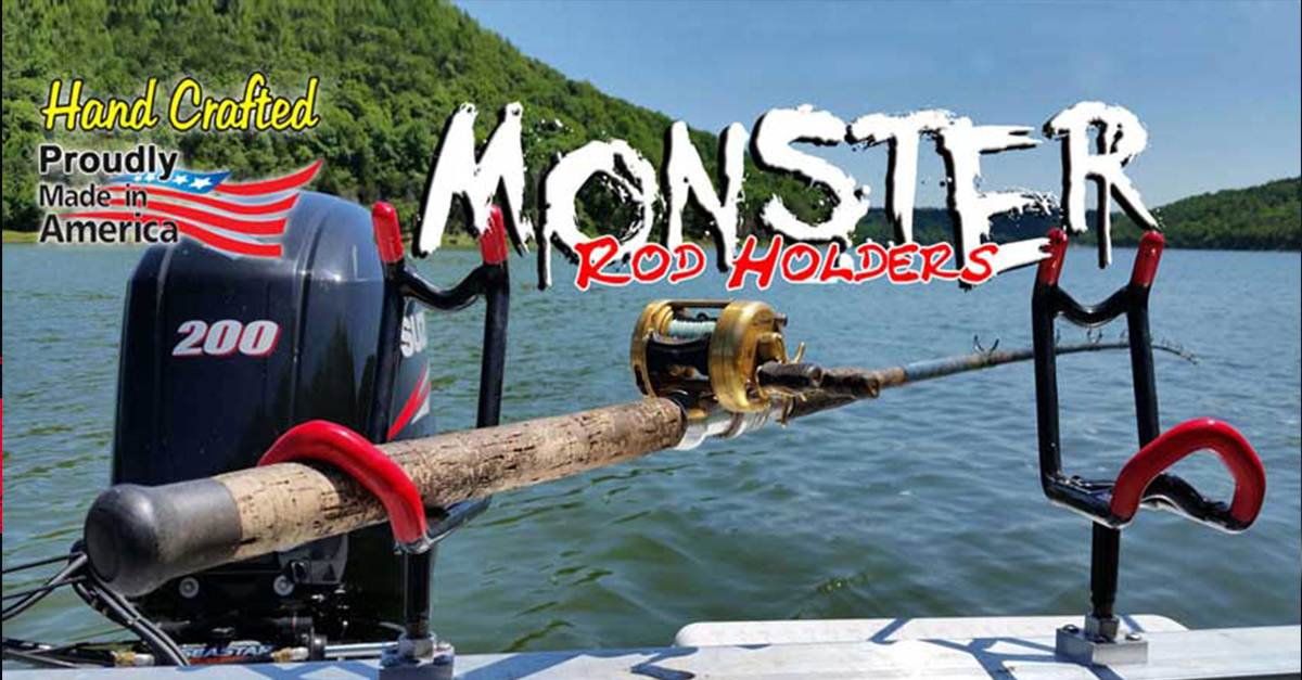 Free Shipping on all Monster Rod Holders Products