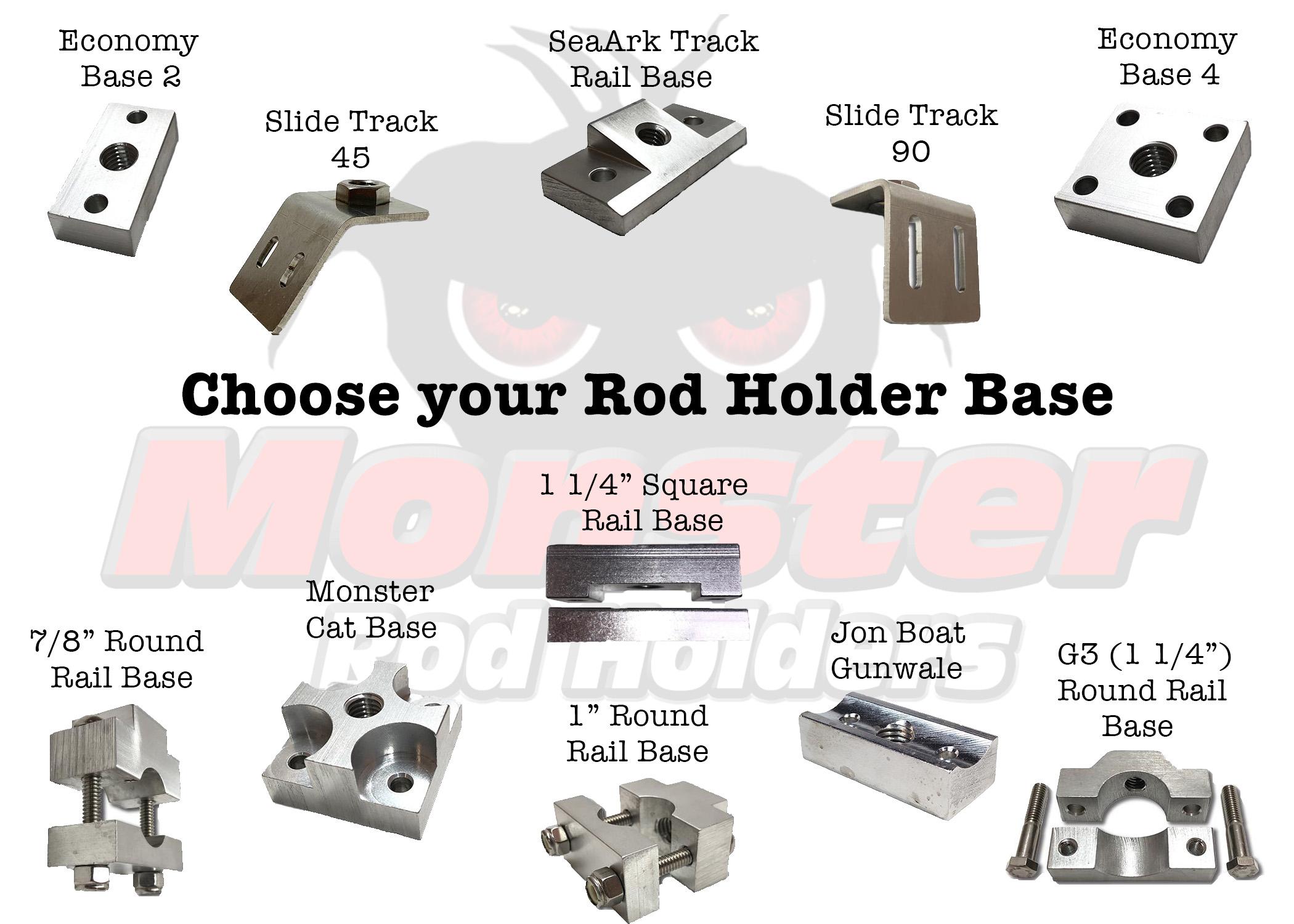 Choose Your Rod Holder Base