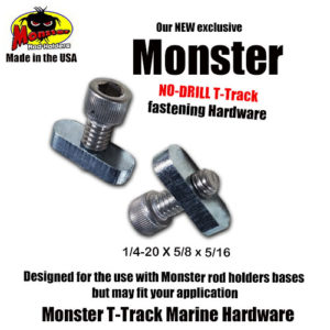 Monster T-Track Marine Hardware