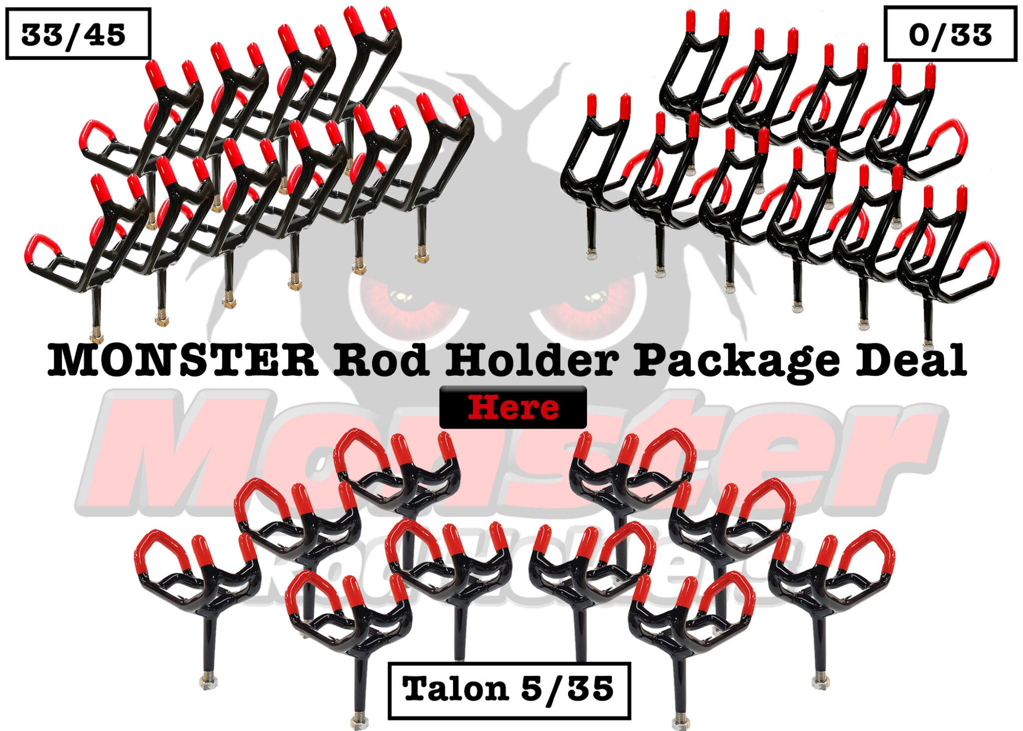 Monster Rod Holder Package Deal