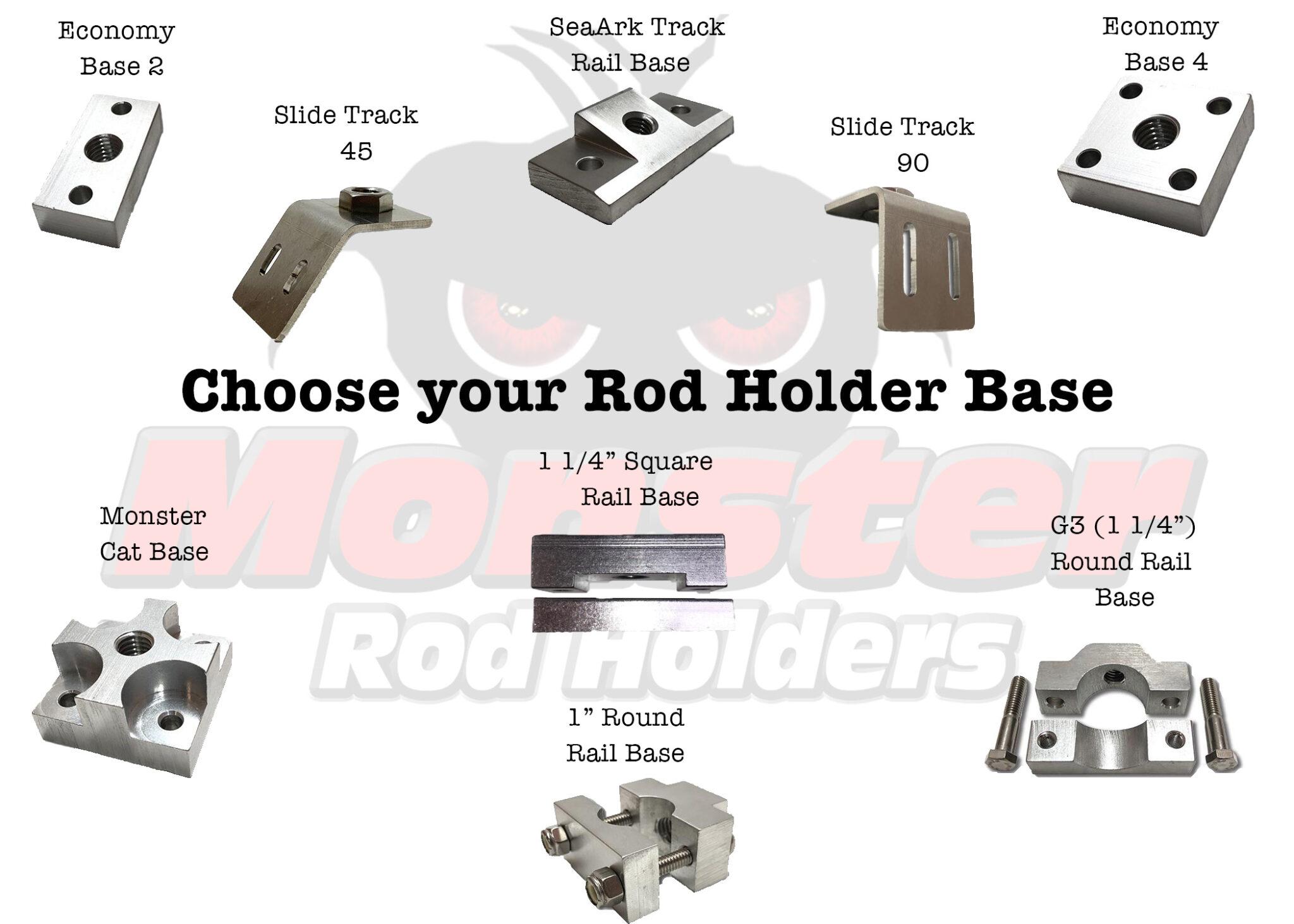 Choose Your Rod Holder Base12345